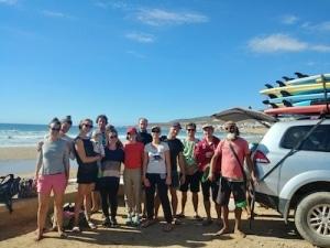 équipe camp de surf maroc