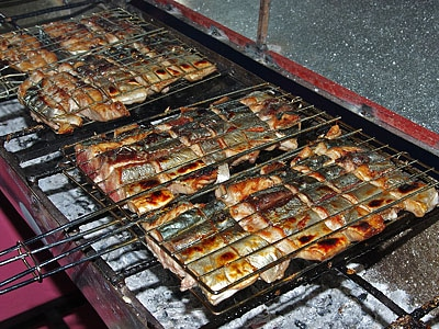 Fish barbecue!