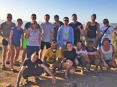 équipe école surf maroc