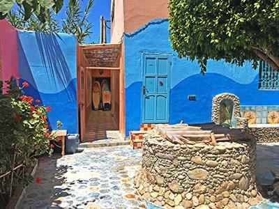maison bleue maroc