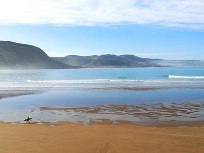 plage surf maroc