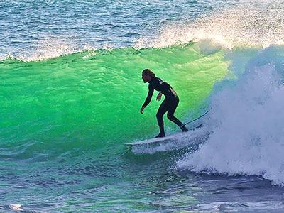 surf vague maroc