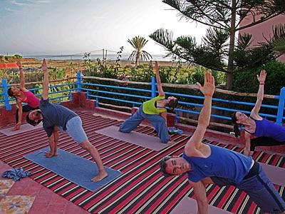 yoga exercice maroc