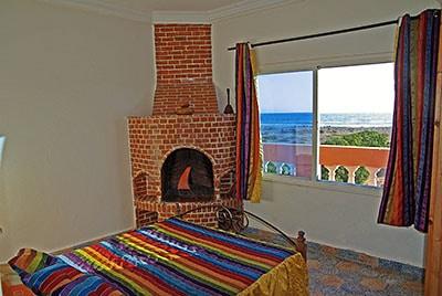 chambre avec vue camp de surf maroc