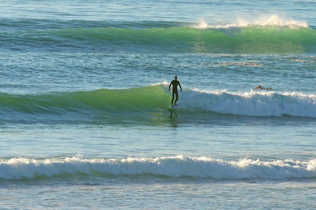 vague surf maroc
