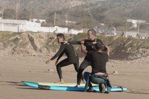 exercice surf school morocco