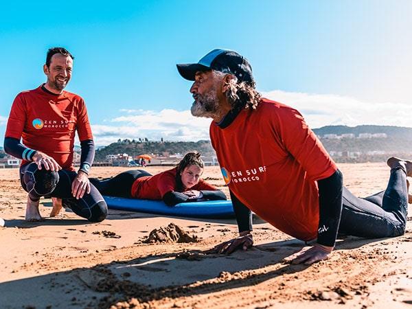 Scuola di surf Marocco