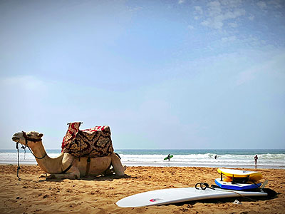 Maroc Yoga Surf camp packs