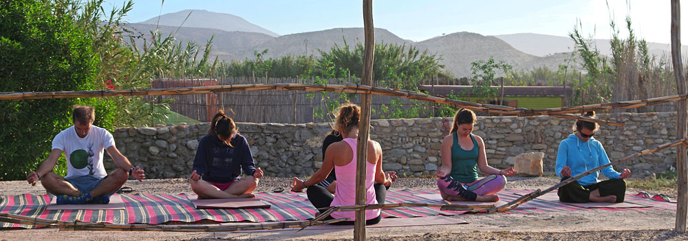 Surf Yoga camp morocco classes lessons